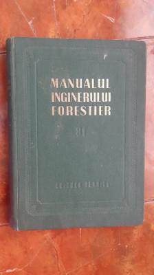 Manualul inginerului forestier, 81 - Organizarea productiei forestiere foto