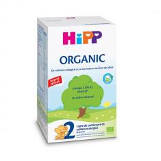 Lapte pref de continuare Organic Hipp 2, 300 g, 6 luni+