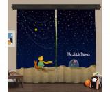 Set 2 draperii The Little Prince 140x260 cm - Cipcici, Albastru