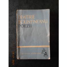 DIMITRIE BOLINTINEANU - POEZII (1962, Biblioteca scolarului)