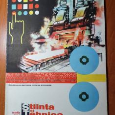 stiinta si tehnica martie 1965-locomotive,avionul tu-134,uzinele chimice turda