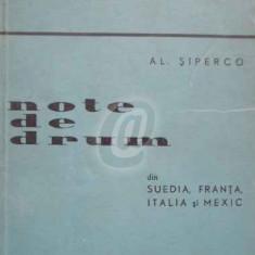 Note de drum din Suedia, Franta, Italia si Mexic (Ed. II)