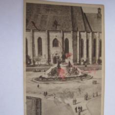 Carte postala - Cluj, Piata Libertatii