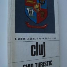 Cluj - Ghid turistic al judetului (cu harta) - A. Anton , I. Cosma , ..
