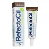 Vopsea sprancene si gene RefectoCil Sensitive Medium Brown