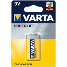Baterie zinc carbon Varta Superlife 9V 6LR61 1Baterie/ Set
