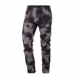 Pantaloni bărbați camuflaj NORTHFINDER Reyh NO-3459OR, Negru, M