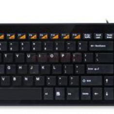 Tastatura A4Tech KX-100 (Neagra)