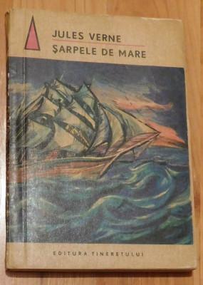 Sarpele de mare de Jules Verne. Traducere Ion Hobana foto