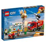 LEGO® CITY - Stingerea incendiului de la Burger Bar 60214
