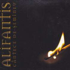 CD Folk: Nicu Alifantis - Cantece de semineu ( 2010, original, ca nou )