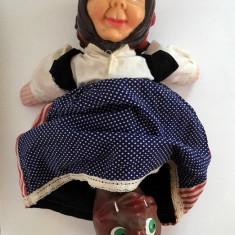F. RAR: Păpușă marionetă Arădeanca, Scufița Roșie 3 in 1, anii '80 România