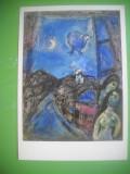 HOPCT 56415 SEARA LA FEREASTRA / MARC CHAGALL-CP PICTURA GERMANIA-NECIRCULATA