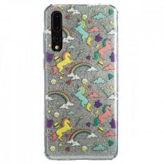 Husa Fashion Huawei P20 Pro Glitter Unicorn