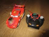 Cumpara ieftin Masina cu telecomanda RC Fulger McQueen Hot Rod 1:24, 4-6 ani, Electrice, Disney