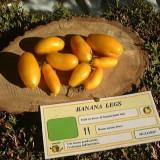 Tomate , rosii soiul BANANA LEG - 5 seminte pentru semanat