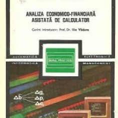 Analiza economico-financiara asistata de calculator