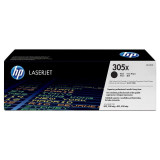 Toner hp ce410x black 4 k color laserjet pro 300