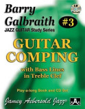 Barry Galbraith Jazz Guitar Study 3 -- Guitar Comping: With Bass Lines in Treble Clef, Book & CD