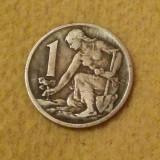 Cehoslovacia - 1 coroană - 1963 (monedă, M0014)