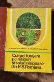 Culturi furajere pe soluri nisipoase din Romania