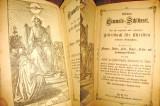9100-Carte rugăciuni pt. crestini-Editie veche sub 1900-Gebetbuch fur Christen.