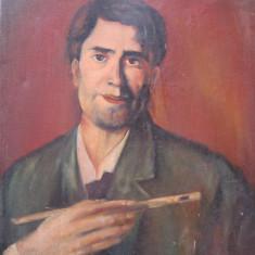 Tablou / Pictura Portretul pictorului Stefan Luchian, Portrete, Ulei, Realism