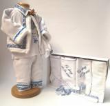 Cumpara ieftin Set Botez Traditional Raul 13 2 piese costumas traditional si trusou Botez Traditional