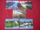 CALENDAR CALENDARE DE BUZUNAR 2011 - 2016