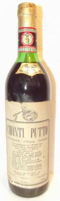 70 - Vin CHIANTI  PUTTO DOC , cl 72 gr 12,7 recoltare 1978 foto