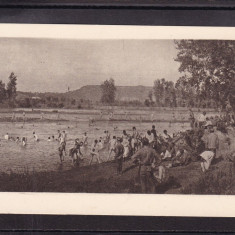 MILITARA  1918  SLATINA  -  BAIE  IN OLT -  SOLDATI