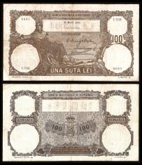 Bancnote România, bani vechi 100 lei 1931 foto
