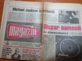Magazin 26 august 1993-art michael jackson ,scorpions,gica hagi,paul newman