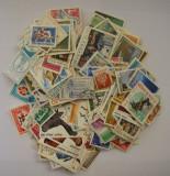 Lot Timbre Romania - 250 Bucati Diferite Stampilate si Deparaiate vezi descriere