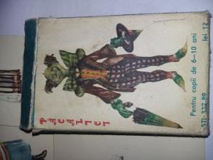 Pacalici ORIGINAL-joc romanesc vechi carti vintage anii '70 perioada comunista