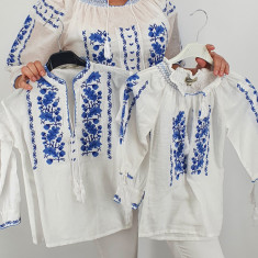 Set Traditional Mama fiica fiu
