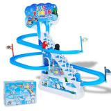 Jucarie interactiva scari automate cu sunet Jolly Penguin