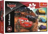 Cumpara ieftin Puzzle Trefl 60 Fulger Mcqueen Cu Prietenii