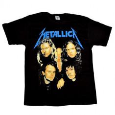 Tricou Metallica - band - logo in flacari, L, M, S, XL, XXL