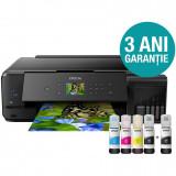 Multifunctionala Epson EcoTank CISS L7180, inkjet, color, format A3, retea