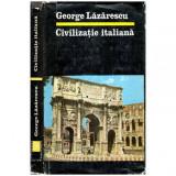 Civilizatie italiana, George Lazarescu