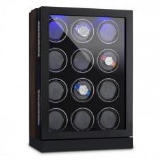 Klarstein KLARSTEIN Klagenfurt, suport mobil pentru ceas, deplasare dreapta-stânga, 12 ceasuri, LED-uri, touch screen