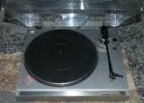 Pick-up turntable  Sanyo TP B2,pitch control,belt drive,doza audio-technica