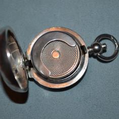 MEDALION ARGINT 800 - Portofel pt. monede - Pandantiv - Art nouveau - Vintage !