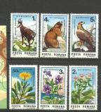 Romania 1985 - FAUNA SI FLORA OCROTITE, serie nestampilata, R31