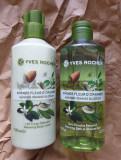 SET YVES ROCHER Gel Dus + Lapte Corp Migdale si Flori de Portocal