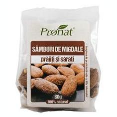 Samburi de Migdale Prajiti si Sarati 80 grame Pronat Cod: PRN08884
