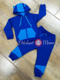 Trening bumbac bebelusi albastru royal – azur