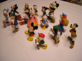 Disney - Lot 15 figurine - Mickey Mouse, Minnie, Donald, Daisy, Goofy, Pete