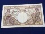 Bancnote România - 2000 lei 1944 - seria G.3123 0474 (starea care se vede)